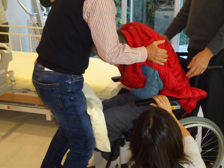車椅子の適合勉強会